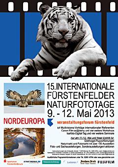 Plakat 15. Interantionale Fürstenfelder Naturfototage