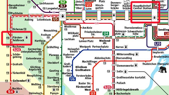 CD S Bahn Netz